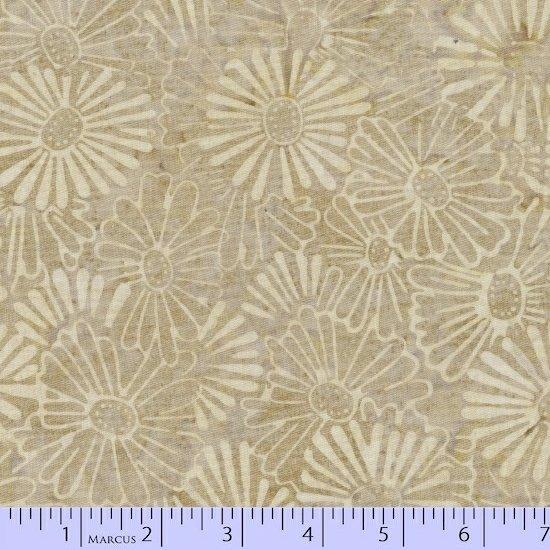 8053-0188 Taupe w_Cream Floral Jewel Graphic Gems SarahJ