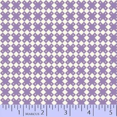 8086-0335 Purple Xs Aunt Grace Basket of Scraps