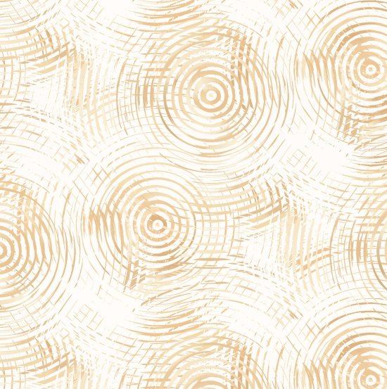 8700-04 Cream Circle Play 108 inch Quilt Back by Color Principle for Henry Glass