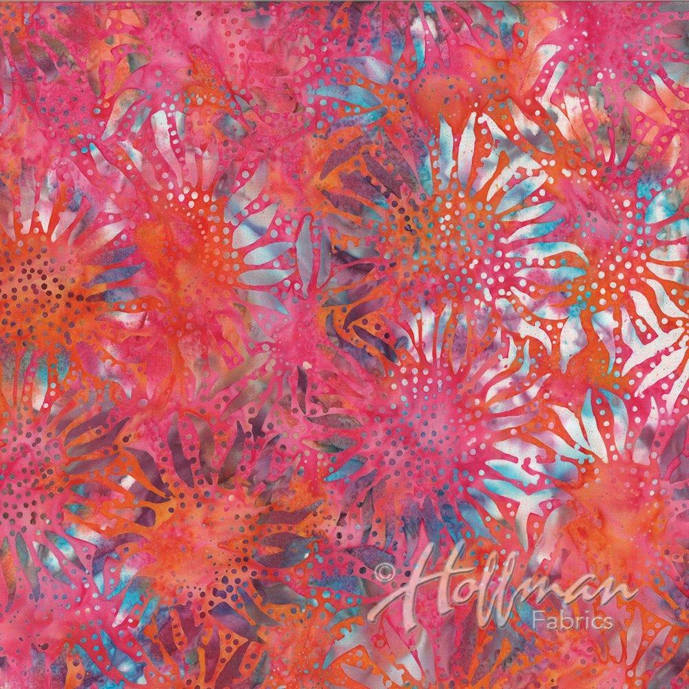 884-368-Coral Gables Bali Chops Batik Hoffman Fabrics