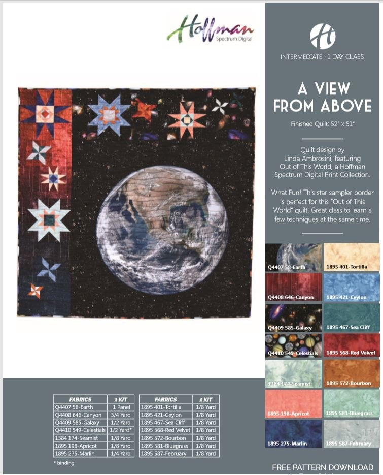 A View From Above Quilt Kit