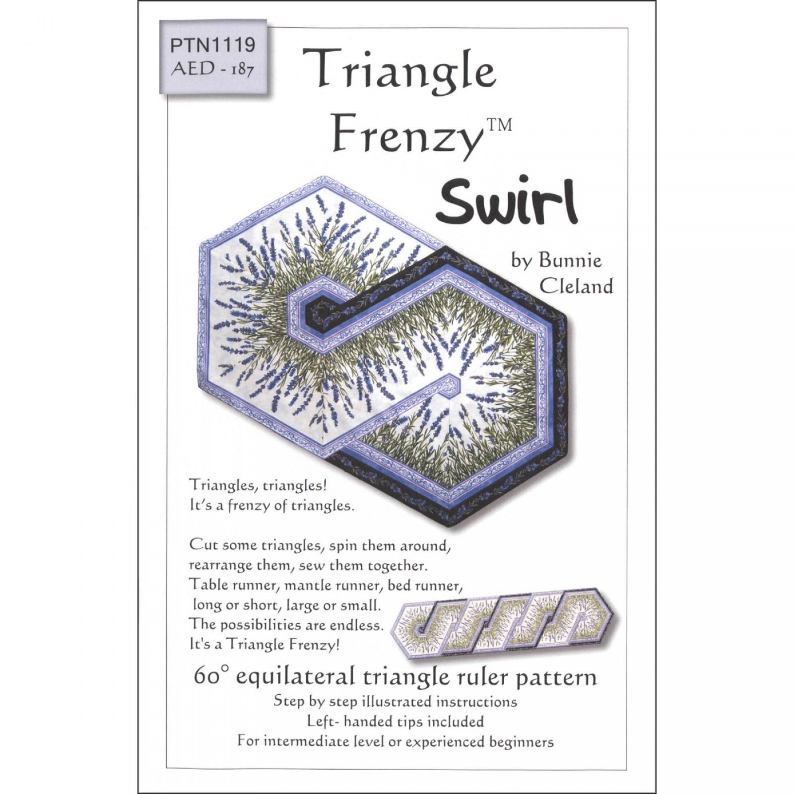 AED187 Triangle Frenzy Swirl