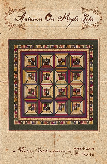 283-Autumn on Maple Lake Pam Buda Heartspun Quilts