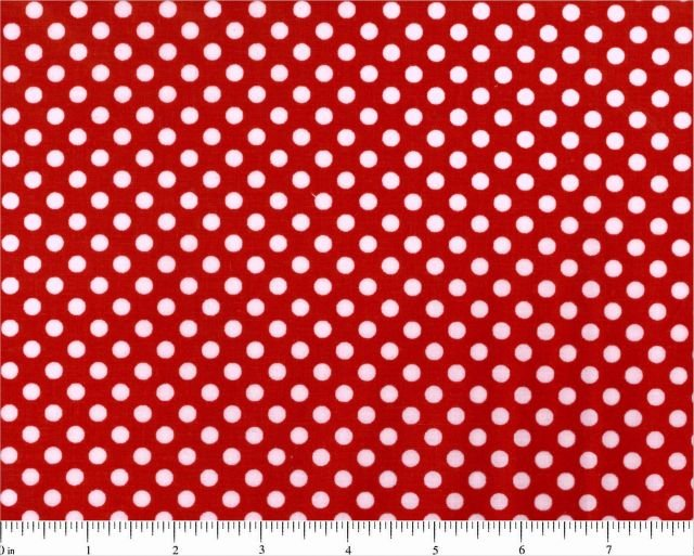BD-47578-002 White Dot on Red Lots of Dots Choice