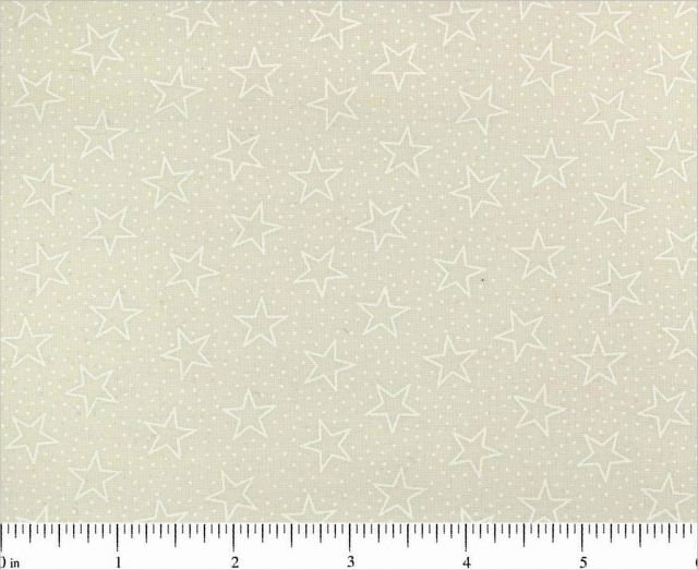 BD-49186-B02 White Stars on Cream Tone on Tone Choice