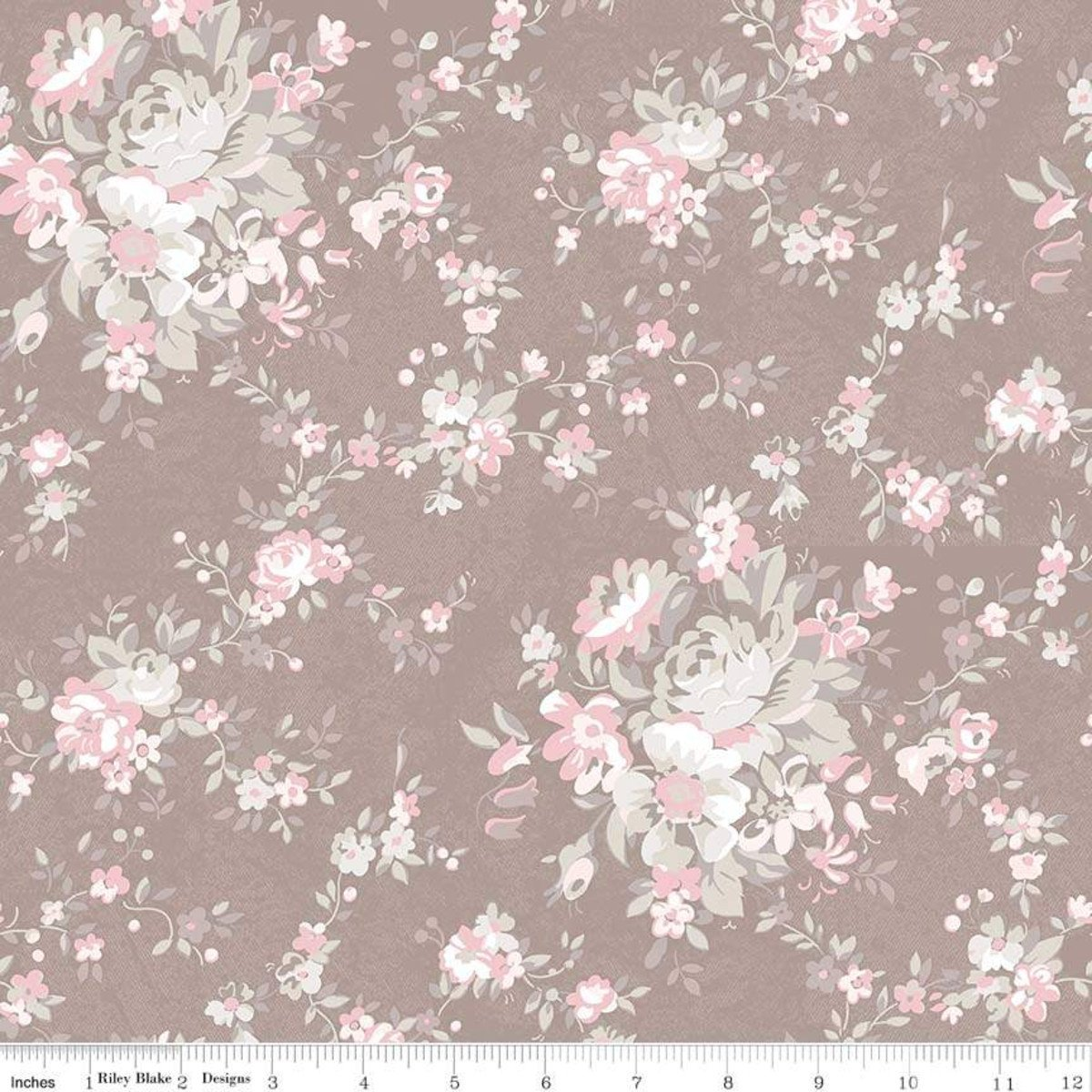 C7680-TAUPE_Main Floral Rose Garden