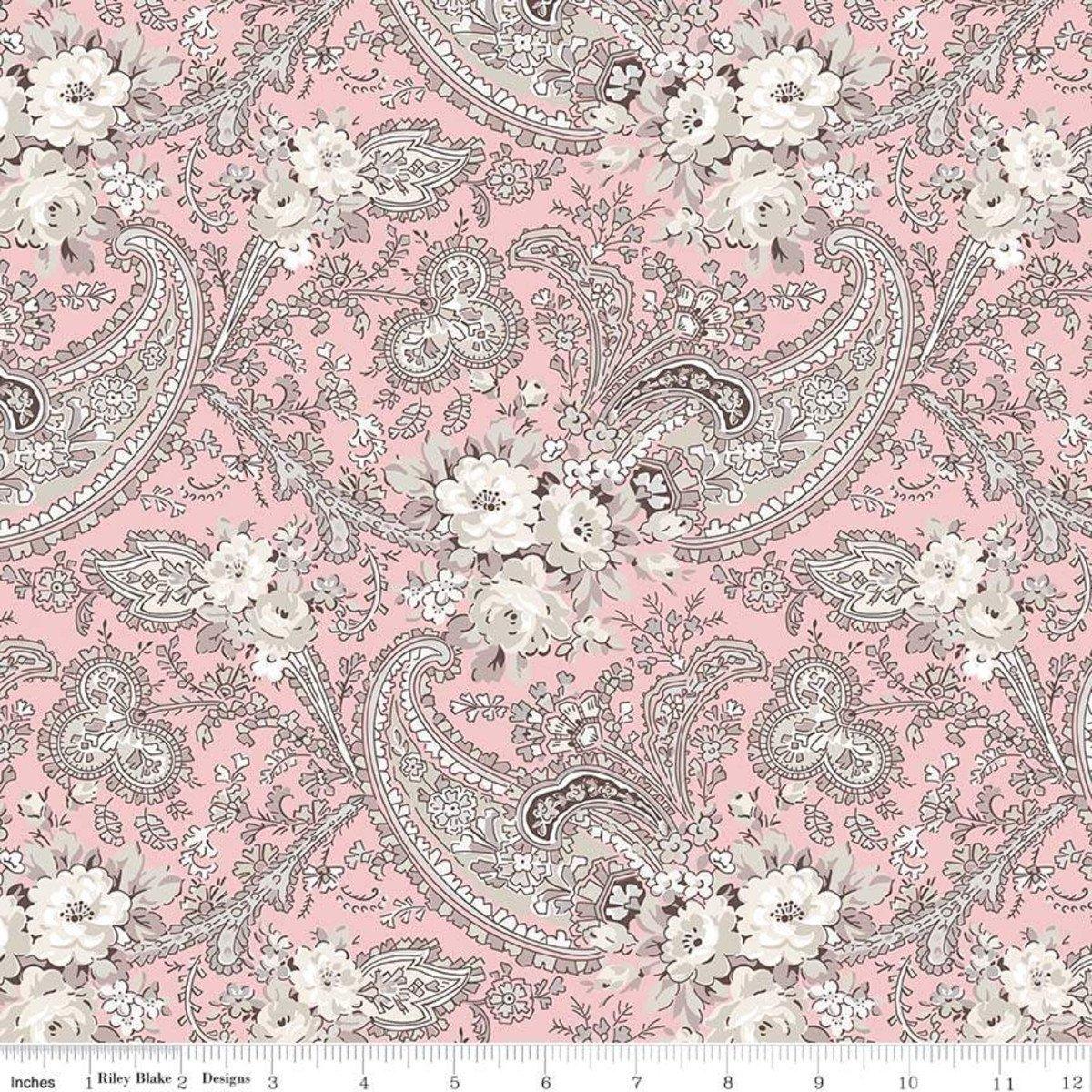C7681-PINK_Paisley Rose Garden
