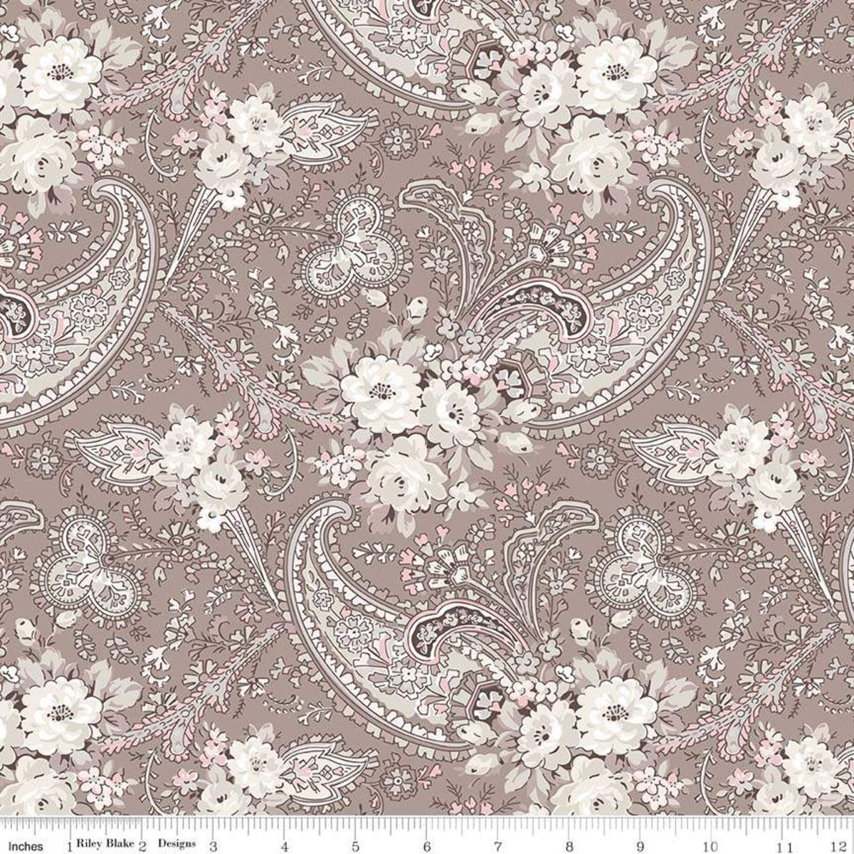 C7681-TAUPE_Paisley Rose Garden