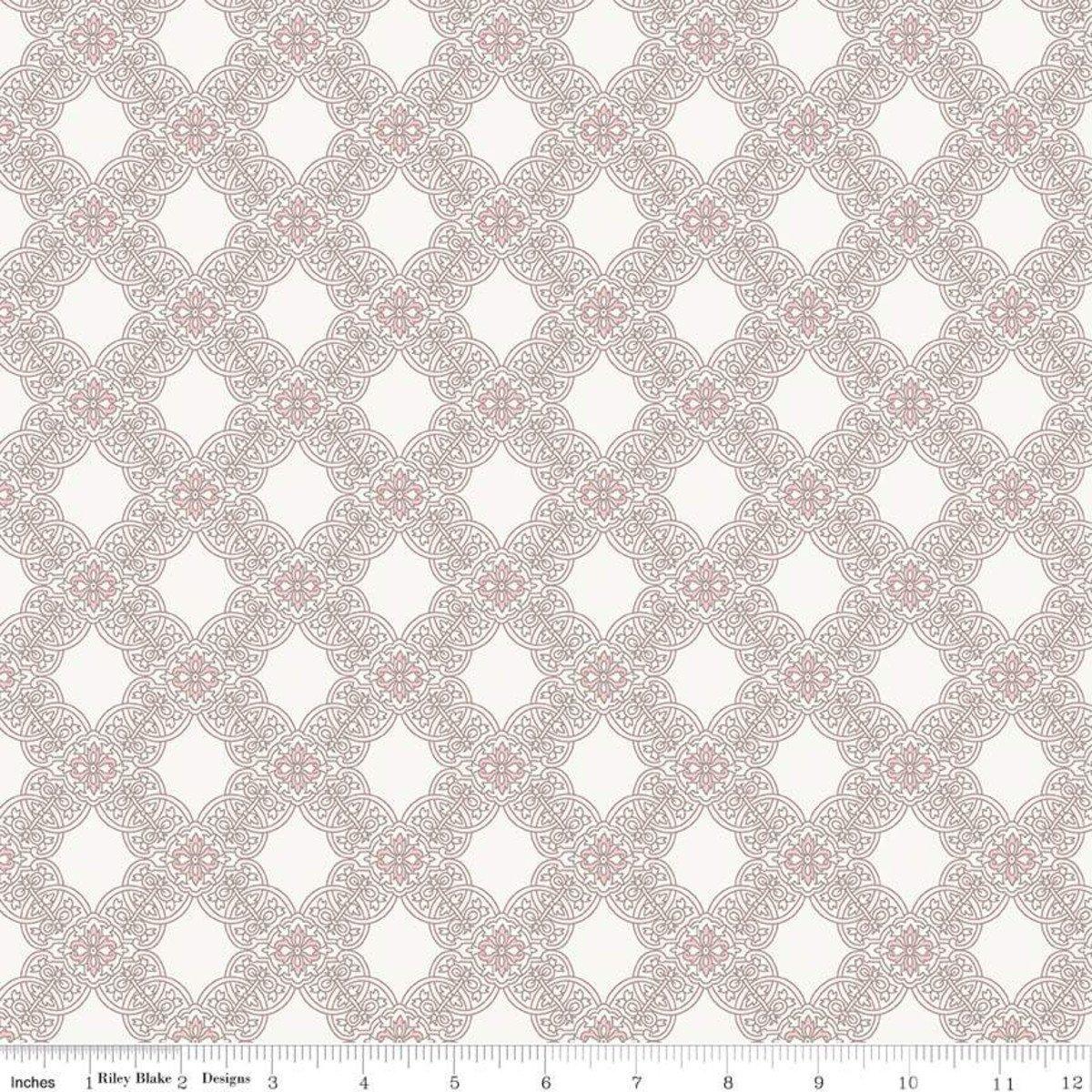C7682-CREAM_Tile Rose Garden