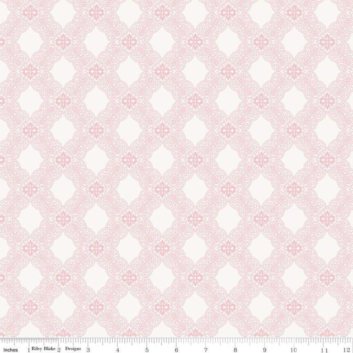 C7682-PINK_Tile Rose Garden