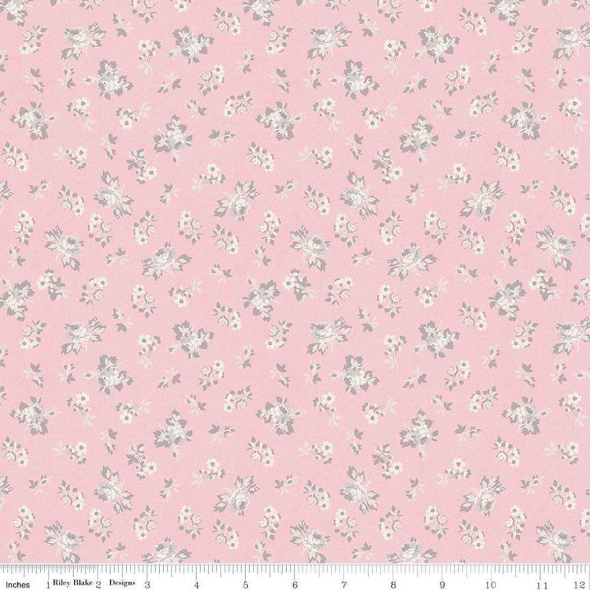 C7683-PINK_Floral Rose Garden