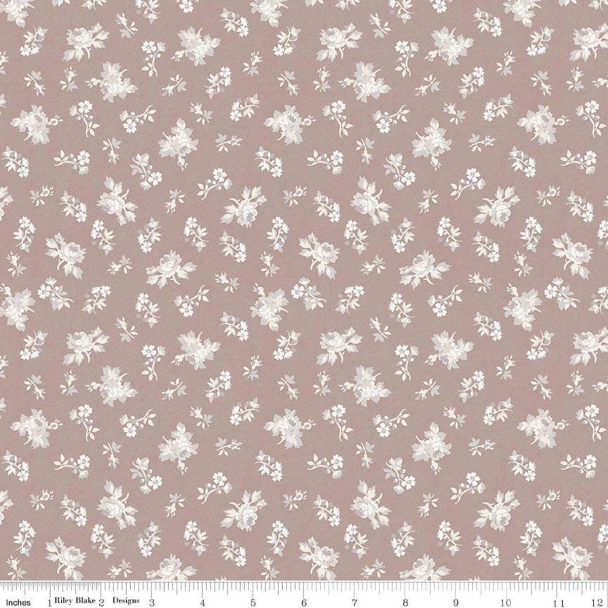 C7683-TAUPE_Floral Rose Garden