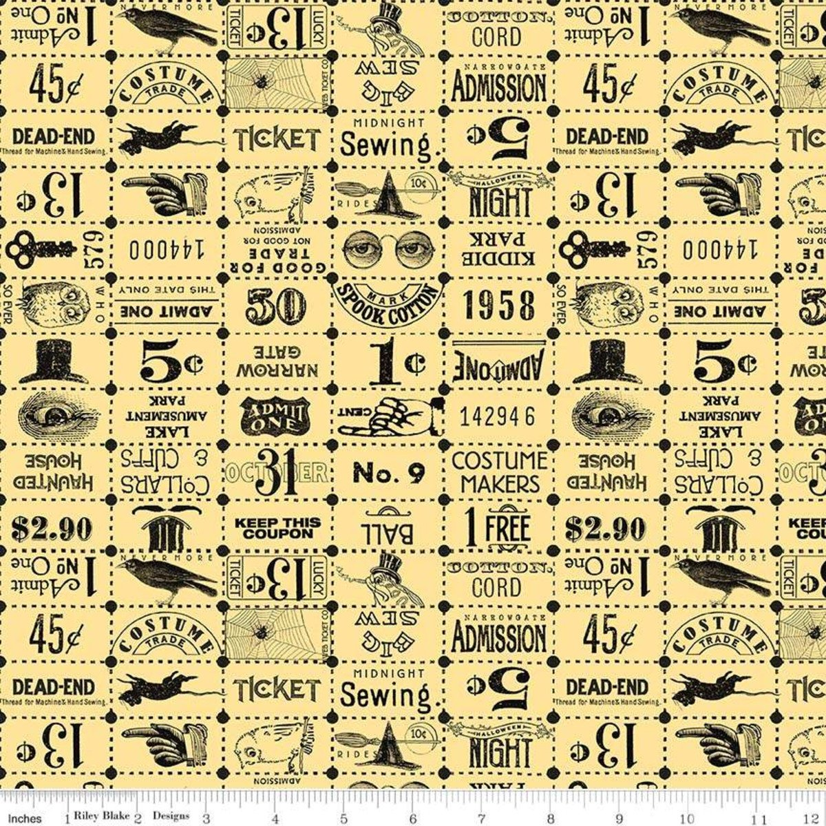 C8369-YELLOW_Ticket Grid Costume Makers Ball