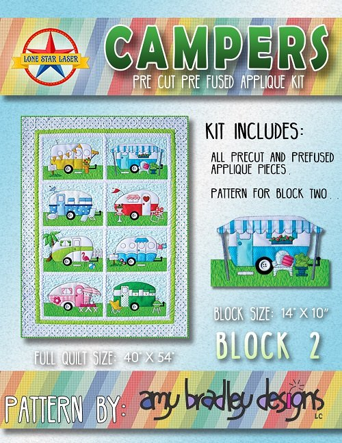 Campers Pattern by Amy Bradley