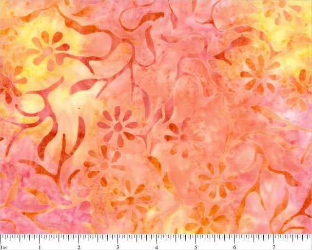 CD-02036-237 Multi Orange Florals Komo Batiks Choice