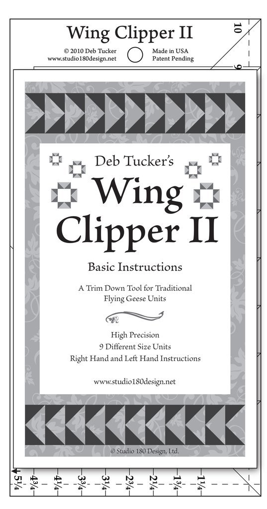 DT08 WingClipper_II_with_Instructions by Deb Tucker
