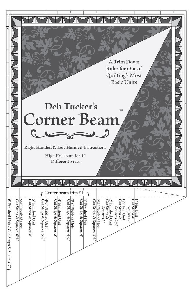 DT12 Corner_Beam_with_instructions by Deb Tucker