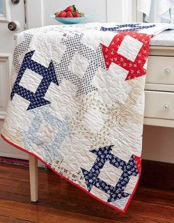 Dutch Dash Pattern_Kit from Easy Quilts featuring Netherlands Fabric