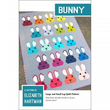 EHP021 Bunny Multi Sz Quilt Pattern Elizabeth Hartman