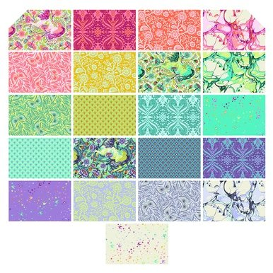 FB6HXTP.Pinkerville 2.25 Hexagon (42 Pieces) Tula Pink