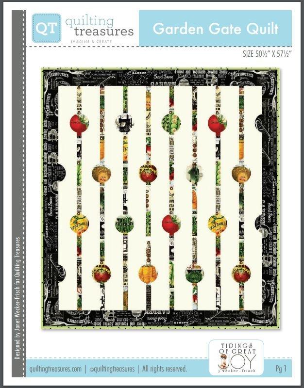 Garden Gate Quilt Kit 50 X 57 j wecker-frisch