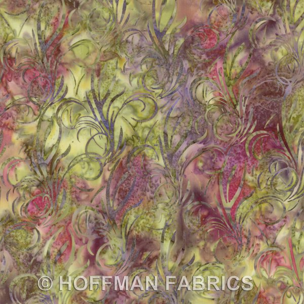 H2258-94-Wildrose Stylized swirls Hoffman