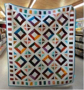Harlow Strip Bracelets Quilt Kit 59 X 71 by Pine Tree Country Quilts