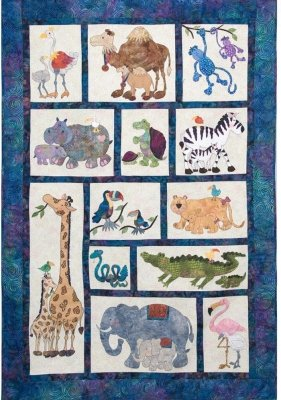 hbh-106 Mom and Me Baby Steps Cuddle Quilt/Bed Topper 51 X 77