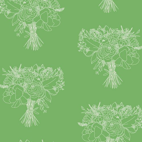 IDA-14809-Lush-Bouquet-Indigo & Aster by Bari J