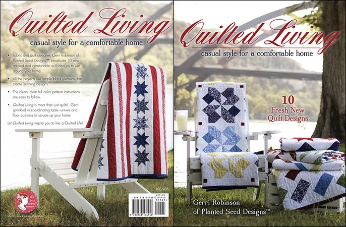 ISE905 Quilted Living Book by Gerri Robinson