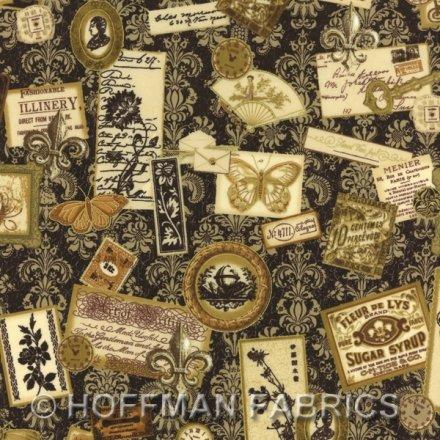 K7136-119G-Vintage-Gold Orleans labels