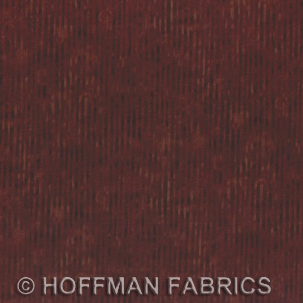 L7300-551-Redwood Skinny Stripe blender from Hoffman Fabrics