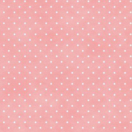 MAS609-P3 Soft Pink Dots Beautiful Basics Roam Sweet Home Maywood
