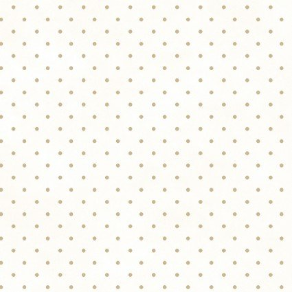 MAS609-WT White_Tan Dots Beautiful Basics Roam Sweet Home Maywood