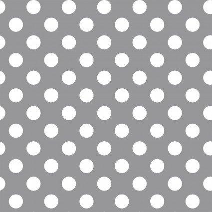MAS8216-K Gray w wht Dots KimberBell Basics