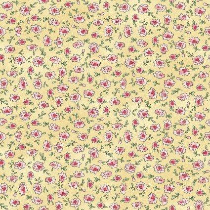 MAS8225-S Yellow Ditsy Flowers Roam Sweet Home Maywood Studios