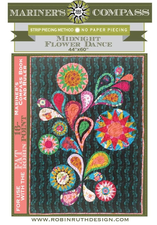 RR181 Midnight Flower Dance Pattern