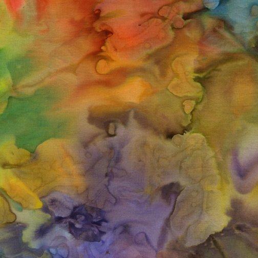 NO49-RA Island Batik-cotton-basics-Rainbow