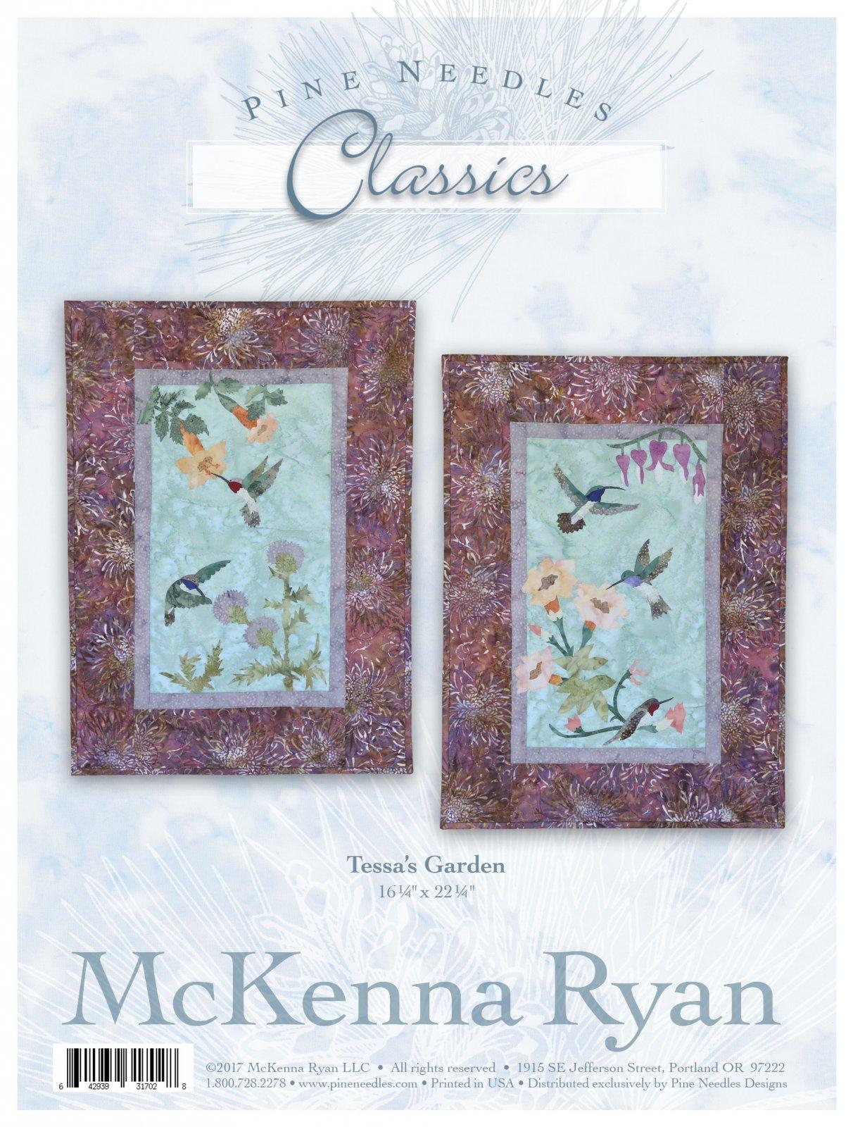 Tessa's Garden Fabric/Pattern Kit by McKenna Ryan