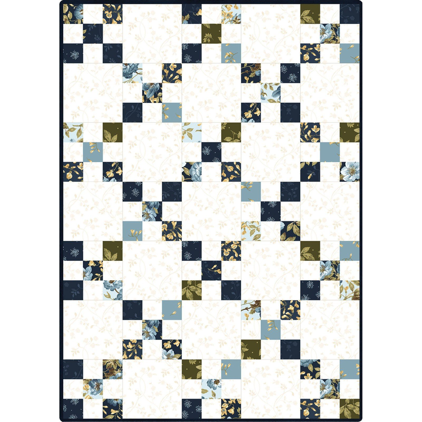 POD-MAS06-ENC Irish Chain Pod Quilt Kit English Country Side Maywood Studio