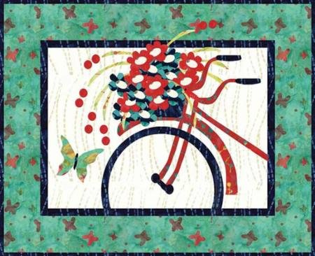 CBQ-Let's Go Ride Pattern and Kit 21 X 17