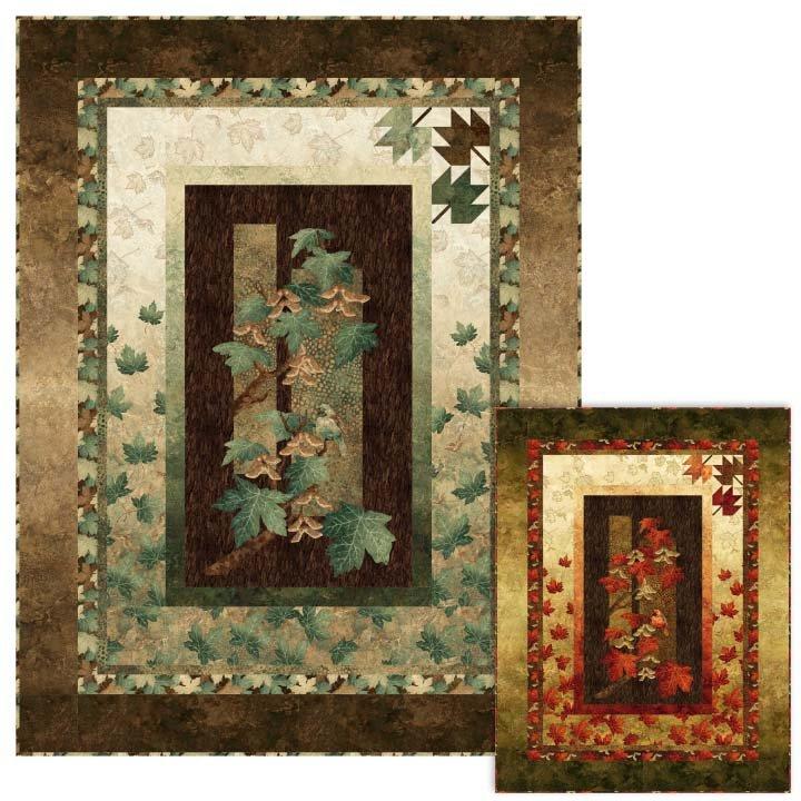 Autumn Splendor Throw Kit and Pattern