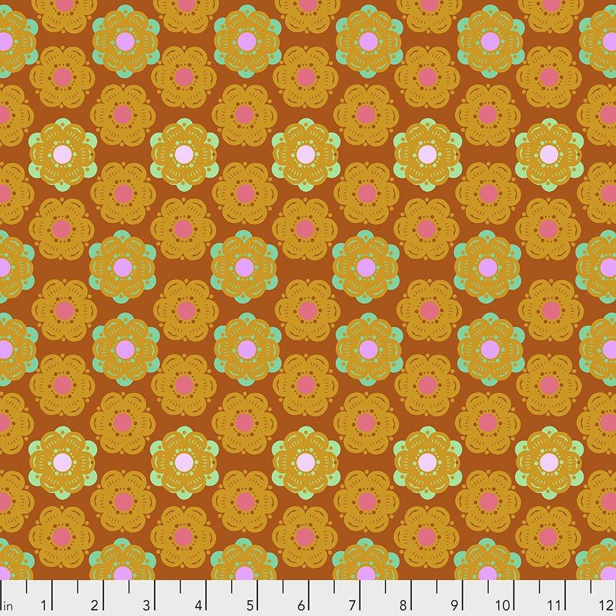 PWAH143.SUNSET Honeycomb Hindsight Wheelhouse Medallion