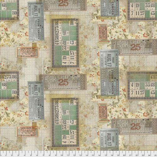 PWTH091.MULTI Tickets Eclectic Elements Tim Holtz
