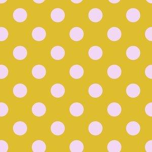 PWTP118.Marigold Pom Poms All Stars Tula Pink