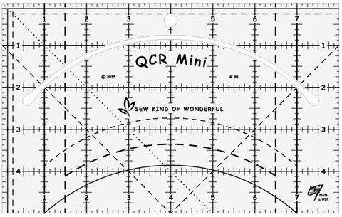 QCR_Mini Ruler by Sew Kind of Wonderful