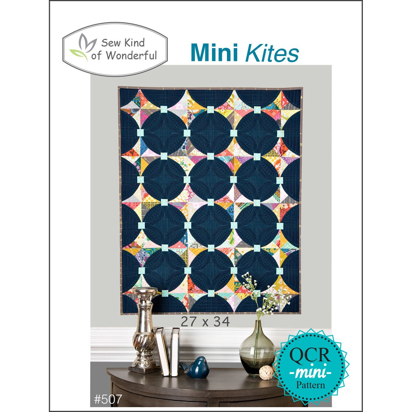 SKW507 Mini Kites Mini QCR Pattern