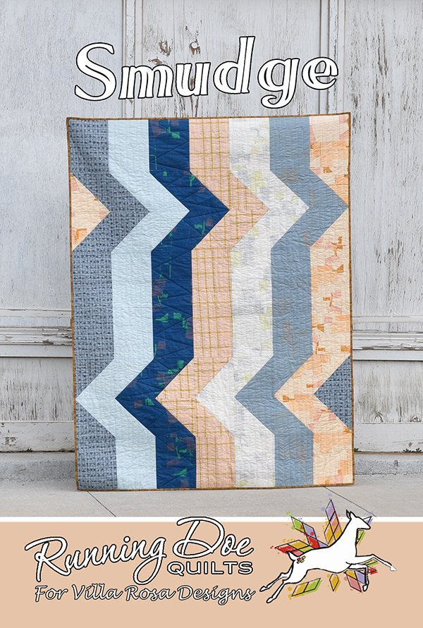 Smudge Pastel Batik Quilt Kit