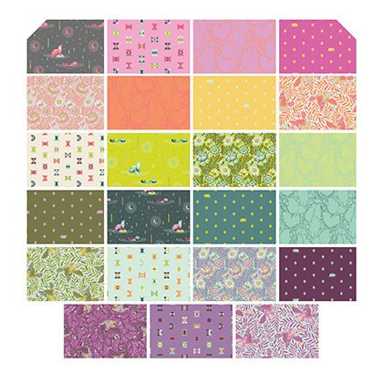 FB6HXTP Spirit Animal 4.75 Hexagons (42 pc) Tula Pink