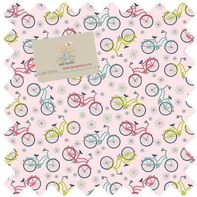 SRD10PK Sunday Ride 10X10 Squares Benartex